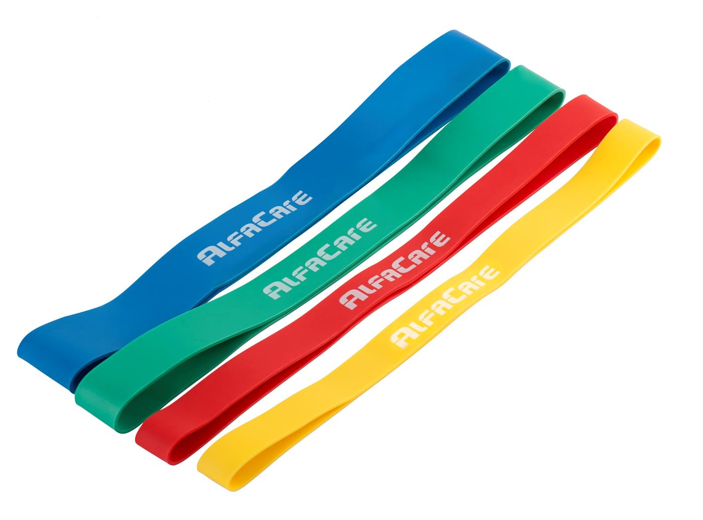 110370 AlfaCare  AlfaCare Rubberband 4-pack X-Lett/Lett/Medium/Hard