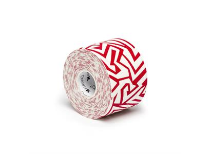 DRM0110   Dream K Tribe White/ Red 5 cm x 5 m